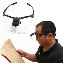 5 Lens 1.0X~3.5X Headband LED Eye Glasses Goggles Loupe