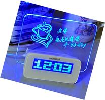 Domire 5 LED Message Board With Highlighter Digital Alarm