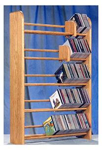 5 Row Dowel CD Rack