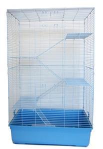 YML-5 SA3220F5 Level Indoor Animal Cage Cat Ferret, Blue