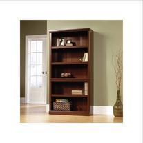 5 Shelf Bookcase - Select Cherry Finish