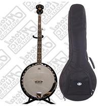 Oscar Schmidt 5-String Electric Banjo w/ Kaces Padded Gig