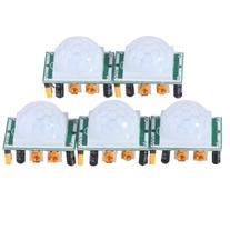 EMY 5 X HC-SR501 Adjust Ir Pyroelectric Infrared PIR Motion