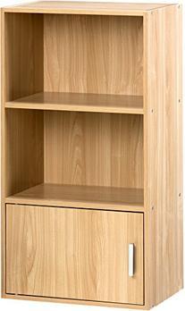 Comfort Products 50-6522OK Small Modern Bookshelf, Oak