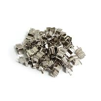 50 Pcs Plug In Clip Clamp for 5 x 20mm Electronic Fuse Tube
