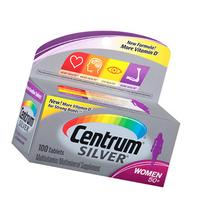 Centrum Silver Women 50+, Multivitamin, Tablets, 100 ea