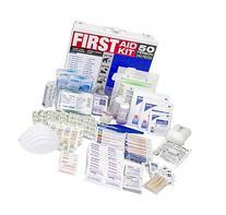 SAS Safety 6050-01 50-Person First-Aid Kit, Metal Box