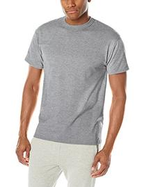 Russell Athletic Men's Short Sleeve Cotton T-Shirt, White, X