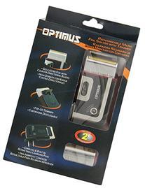 Optimus 50015 Rechargeable Pocket Palm Shaver, Black
