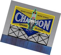 5072 Small Model Champion Spark Plug Animated Lighted Sign
