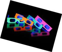 51 Pair of Fireworks Diffraction Glasses - 50 Pair