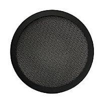 Steel Mesh 2 Piece Grill for 6 1/2 Speaker Black Sold