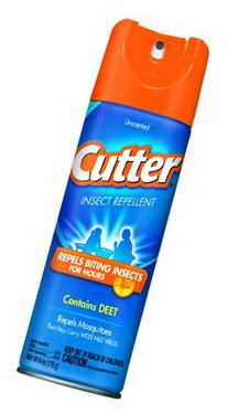 Cutter 51020 Unscented Insect Repellent 10-Percent DEET, 6-