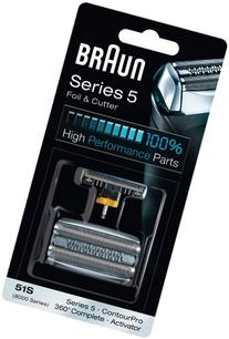 Braun 51S Replacement Foil and Cutter Cassette Multi Silver