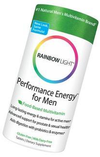 Rainbow Light 545889 Performance Energy Multivitamin For Men