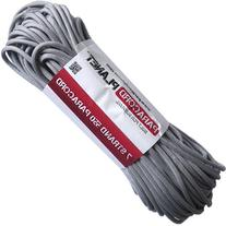 Paracord Planet 550 lb, 100' Foot Hank, Silver Grey