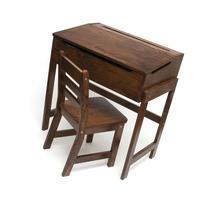 Lipper International 564WN Child's Slanted Top Desk and