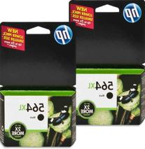 564XL CN684WN#140 Ink Cartridge 2-PACK in Retail Packaging-