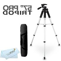 57 Camera Tripod w/ Carrying Case For Nikon Coolpix P600,