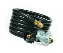 Camco 57721 Low Pressure Gas Regulator with 12' Hose