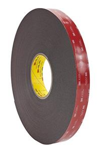 3M VHB Heavy Duty Mounting Tape 5952 Black, 3/4 in x 15 yd