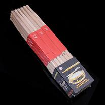 6 Pairs 5A Music Rock Band Maple Wood Drum Stick Drumsticks