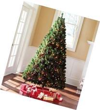 6.5 Ft Artificial Christmas Green Madison Pine Tree Pre-lit