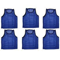 BlueDot Trading 6 blue adult sports pinnies-6 scrimmage