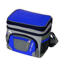 6 Can Cooler with Expandable Top - Blue