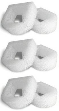6 Foam Pre-Filters for Drinkwell Stainless Steel 360, Lotus