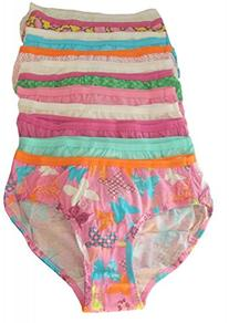 Hanes Girls 6-16 12 Pack Hipster, size 16