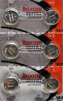 "6 LR1130  Alkaline Button Cell Batteries By maxell ""New"