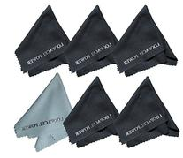 6 Microfiber Cleaning Cloths Ultra Smooth, Use for Delicate