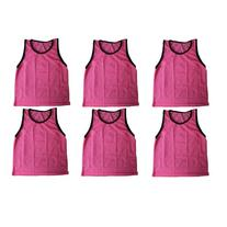 BlueDot Trading 6 pink adult sports pinnies-6 scrimmage