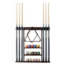 Cue Rack Only - 6 Pool Cue - Billiard Stick Wall Rack Made