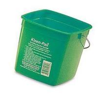 San Jamar 6-Quart Green Kleen-Pail Bucket