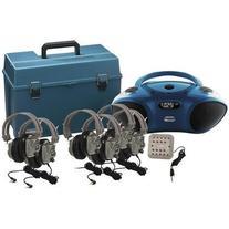 6 Station Deluxe Bluetooth/CD/FM Listening Center