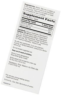 Caltrate 600+d Calcium Supplement, 60 Ct