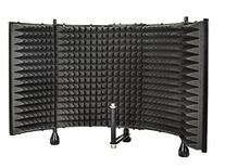 Monoprice Microphone Isolation Shield - Black - Foldable
