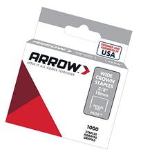 Arrow Fastener 606 Wide Crown Swingline Heavy Duty 3/8-Inch