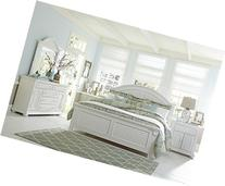 Liberty 607 4pc King Bedroom Set - White Glove In Home