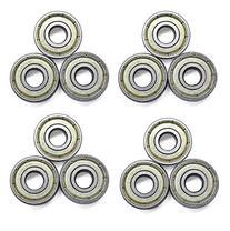 16-Count 608 Bearings ABEC-7 Skate Bearings