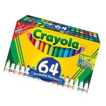 64-Count Broad Line Markers-Crayola Size: 64 Count , Model: