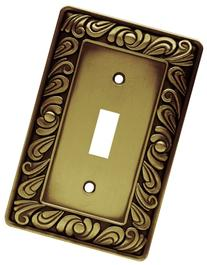 Franklin Brass 64049 Paisley Single Toggle Switch Wall Plate