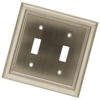 BRAINERD 64208 Architectural Double Switch Wall Plate /
