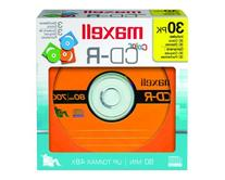 Maxell 648451 700MC CD-R Color Discs