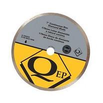 QEP 6-7003Q Tile Saw Bld, Wet/Dry, Cntnus Rim, 7 In Dia
