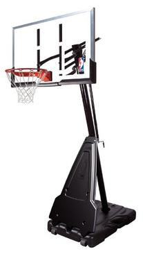 "Spalding NBA Portable Basketball System - 54"" Acrylic"