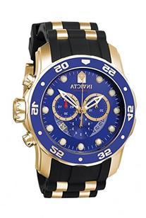 Invicta Men's 'Pro Diver' Swiss Quartz Stainless Steel and