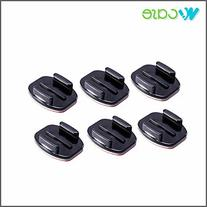 6X WoCase® Flat Adhesive Mounts  for GoPro HERO3+ 3 2 1